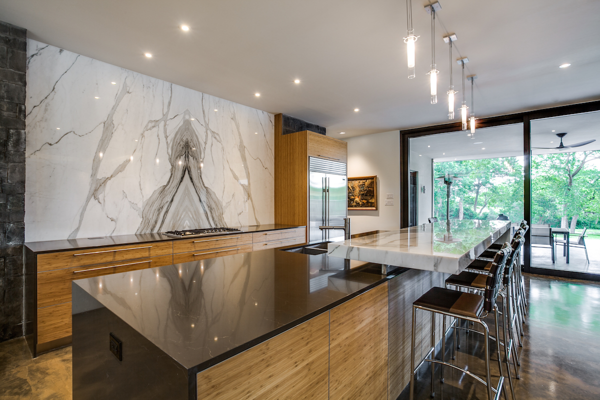 Mid-Century Modern Takes Natural Stone to the Next level