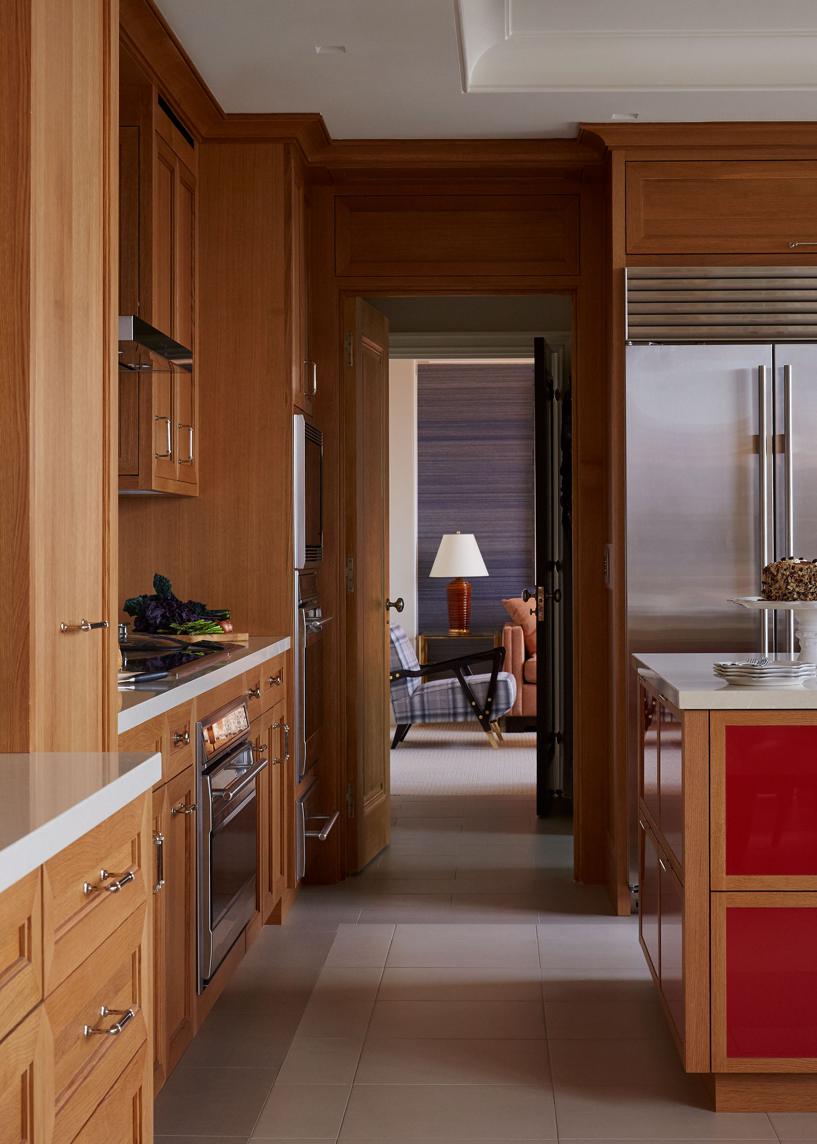 Houston Hi-Rise features custom millwork | Bentwood Luxury Kitchens