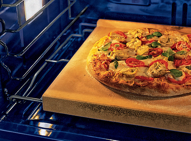 Wolf pizza bake stone kit