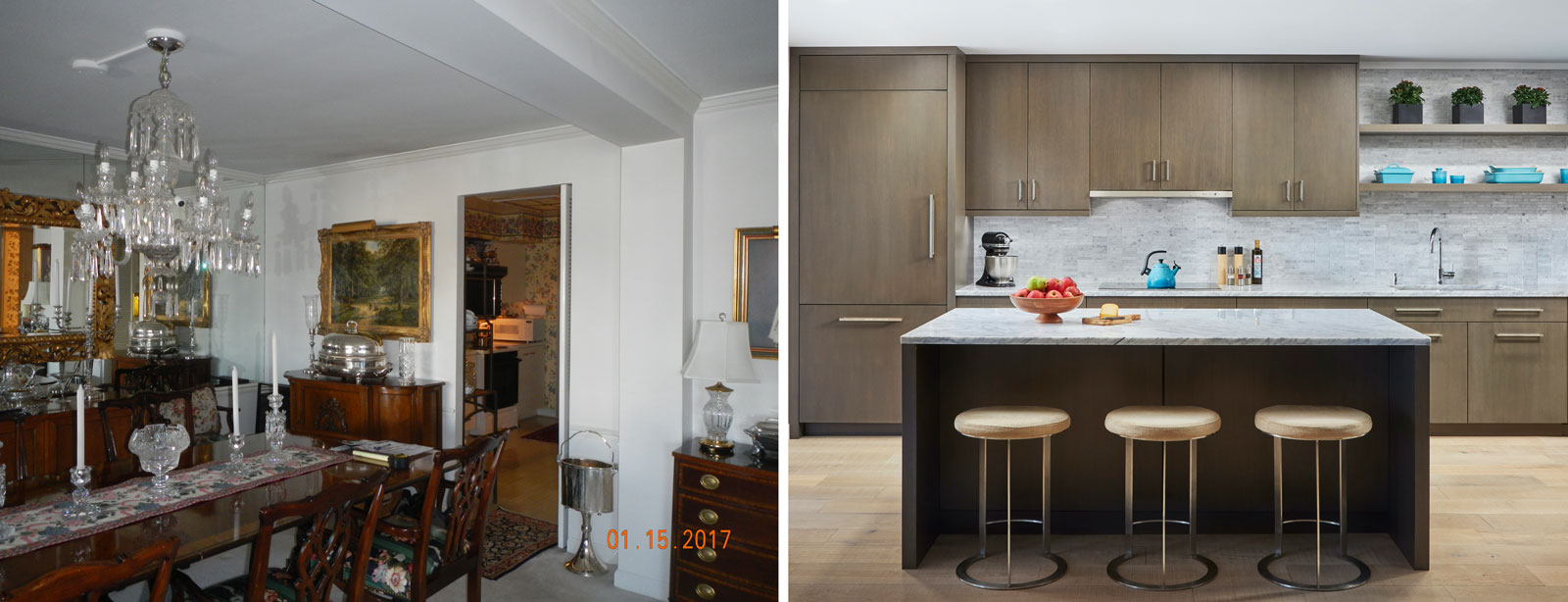 condo remodel before and after